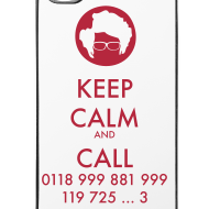 Diseño ~ Funda iPhone 4/4S - IT Crowd - Keep calm