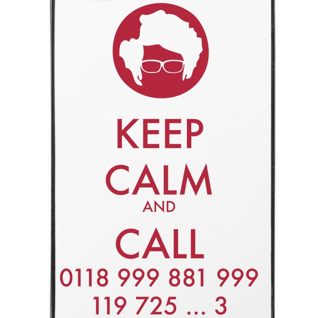 Funda iPhone 4/4S - IT Crowd - Keep calm