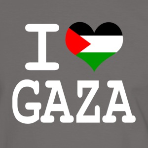 i love Gaza T-Shirts - Men's Ringer Shirt