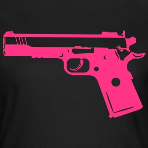 9mm Gun Weapon 1c T-Shirts - Women's T-Shirt
