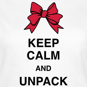 Keep Calm and unpack T-Shirts - Koszulka damska