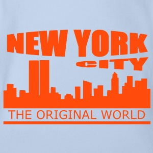 new york city Tee shirts - Body bébé bio manches courtes