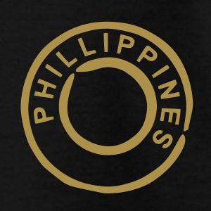 Negro Filipinas - Phillippines Camisetas - Camiseta niño
