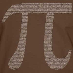 Numbers in decimals: Geometric Constant Pi T-Shirts - Men's Ringer Shirt