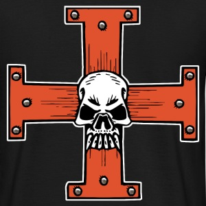 skull of cross Tee shirts - T-shirt Homme