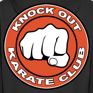 knock out karate club Hoodies & Sweatshirts - Men's Premium Hooded Jacket