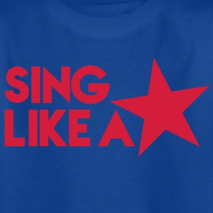 SING like a STAR! celebrity cute singer design Shirts - Kids' T-Shirt