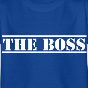 THE BOSS in stencil Shirts - Kids' T-Shirt