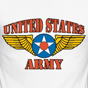 usa army Tee shirts manches longues - T-shirt baseball manches longues Homme