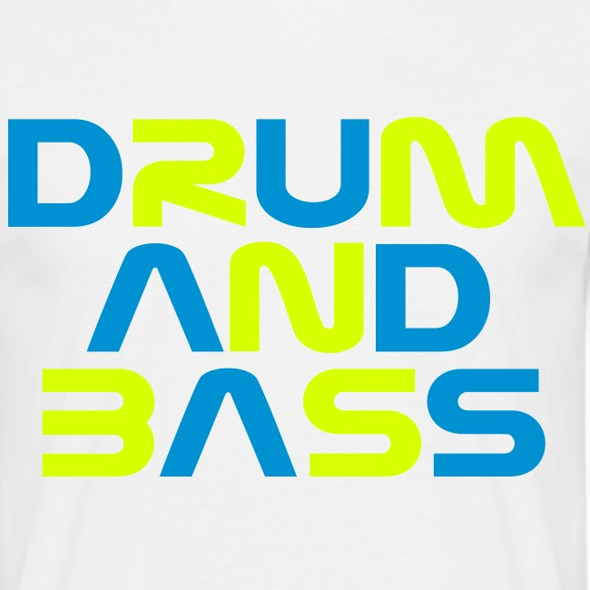 DRUM AND BASS Mens T-Shirt