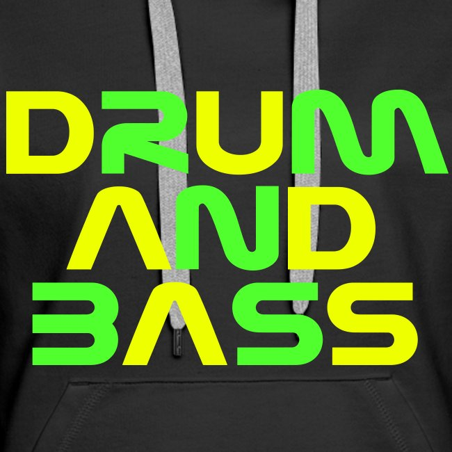 DRUM AND BASS (2) Womens Hoodie