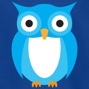 Blue Owl - Kids' T-Shirt