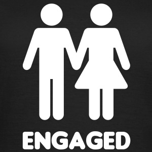 Engaged Couple - WC Style - Women's T-Shirt