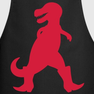 Dinosaur with cowboy boots  Aprons - Cooking Apron