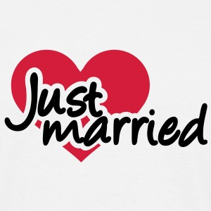 Just married T-Shirts - Männer T-Shirt
