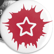 Motiv ~ 5er Pack Buttons SOZIALHELDEN