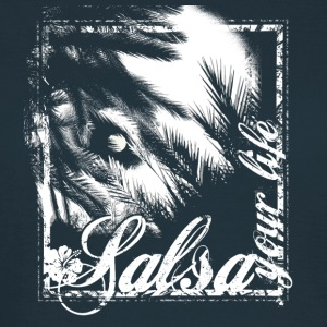 salsa your live | tanzshirts  T-Shirts - T-skjorte for kvinner