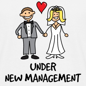 Wedding - Under New Management  - Men's T-Shirt