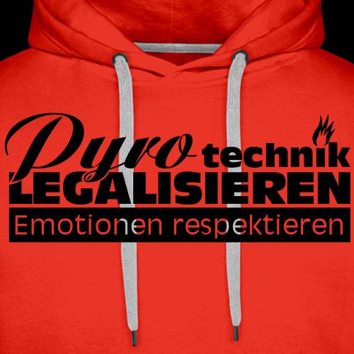 Pyrotechnik legalisieren, Emotionen respektieren