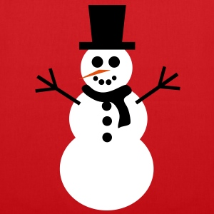 snowman, winter - Tote Bag
