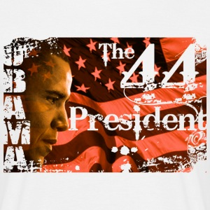 44th Obama - Men's T-Shirt