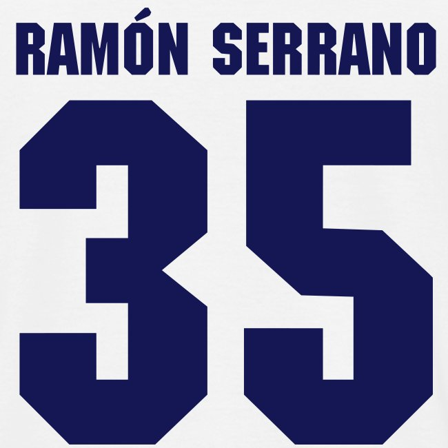 Ramón Serrano (double-sided)