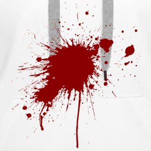 Blood Spatter 1 (dd)++2012 Hoodies & Sweatshirts - Women's Premium Hoodie