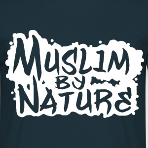 Muslim by Nature in Weiß T-Shirts - Männer T-Shirt