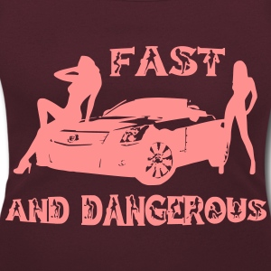 fast and dangerous T-Shirts - Women's Scoop Neck T-Shirt