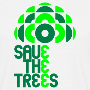White save trees T-Shirts - Men's T-Shirt
