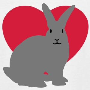 Rabbit heart Shirts - T-shirt Enfant