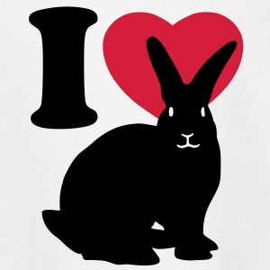 I love rabbits Shirts - Kinder T-Shirt