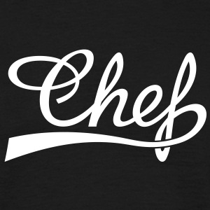 Cook-madlavning, master chef, restaurant, mad T-shirts - Herre-T-shirt