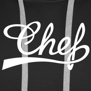 Cook cooking, master chef, restaurant, food Hoodies & Sweatshirts - Men's Premium Hoodie
