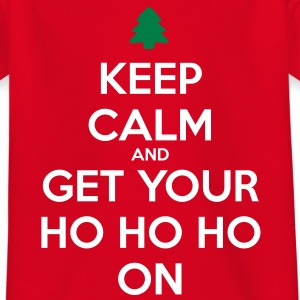 Keep Calm And Ho Ho Shirts - Kids' T-Shirt