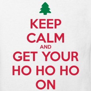 Keep Calm And Ho Ho Skjorter - Økologisk T-skjorte for barn