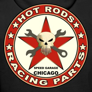 hot rods racing parts Sweat-shirts - Sweat-shirt à capuche Premium pour hommes