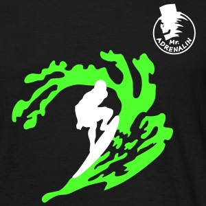 surfing_1 T-shirts - Mannen T-shirt