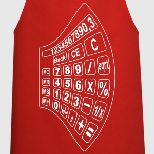 math calculator 2  Aprons - Cooking Apron