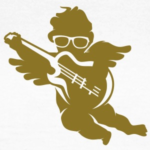 A cherub with cool glasses and an electric guitar T-Shirts - Women's T-Shirt