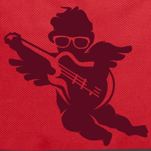 A cherub with cool glasses and an electric guitar Bags  - Backpack