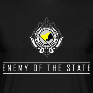 Enemy of the State - AnCap T-Shirt - Männer T-Shirt