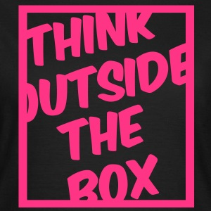 Think Outside The Box Tee shirts - T-shirt Femme