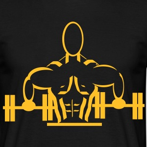 weight lifting  - Men's T-Shirt