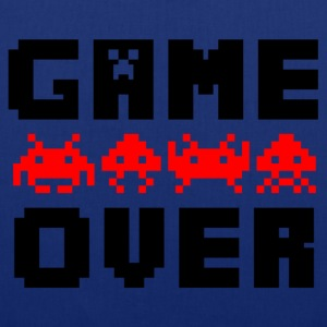 game over bolsas - Bolsa de tela