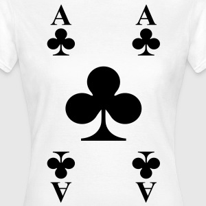 ace of clubs T-Shirts - Frauen T-Shirt