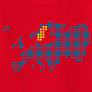 Red Sweden - Sverige Shirts - Kids' T-Shirt