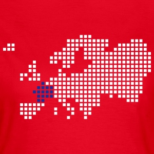 Red France T-Shirts - Women's T-Shirt