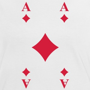 Ace of Diamonds T-Shirts - Women's Ringer T-Shirt