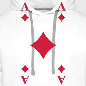 Ace of Diamonds Hoodies & Sweatshirts - Men's Premium Hoodie